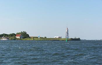 boottocht amsterdam naar vuurtoreneiland